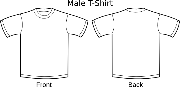 image transparent library Drawing shirts t shirt. Plain clip art at