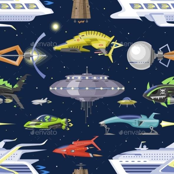vector free library . Vector spaceship