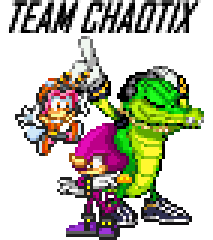 picture free stock Vector sprites team chaotix. By snakey on deviantart.