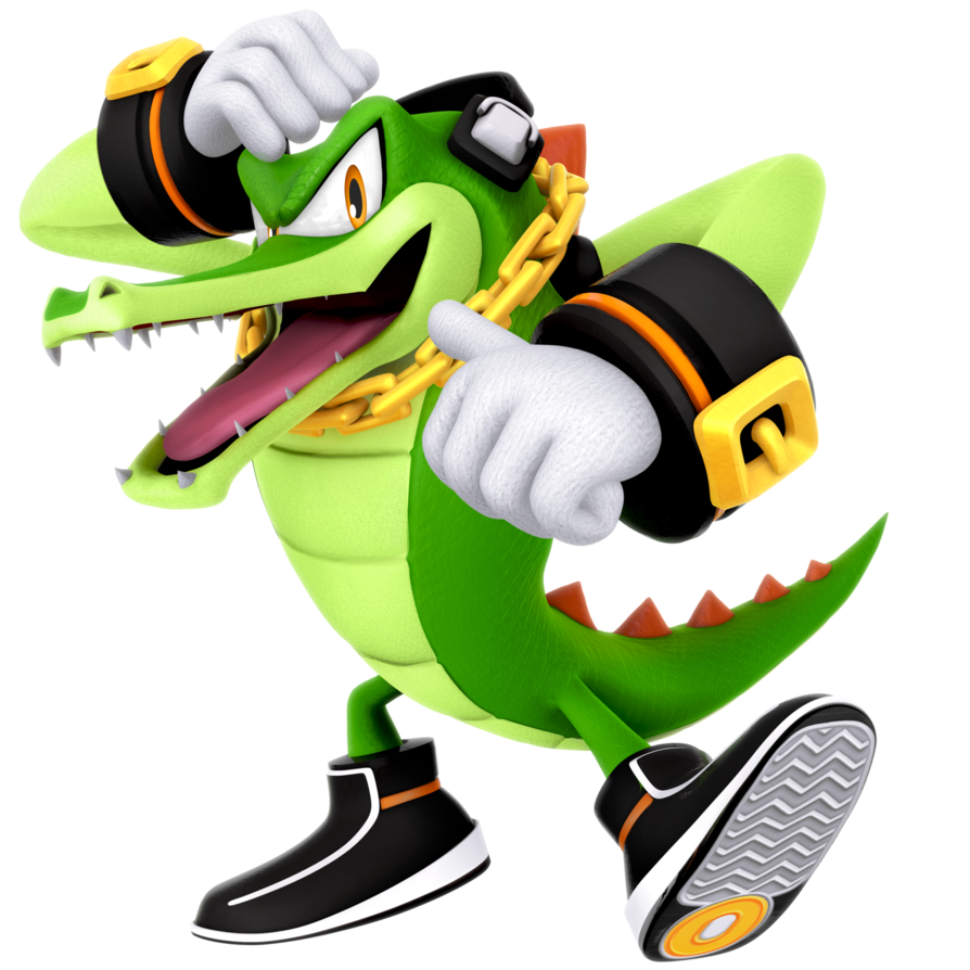 graphic royalty free library Vector sprites team chaotix. And with this new.