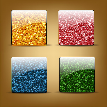 banner freeuse library Vector button square. Free download for