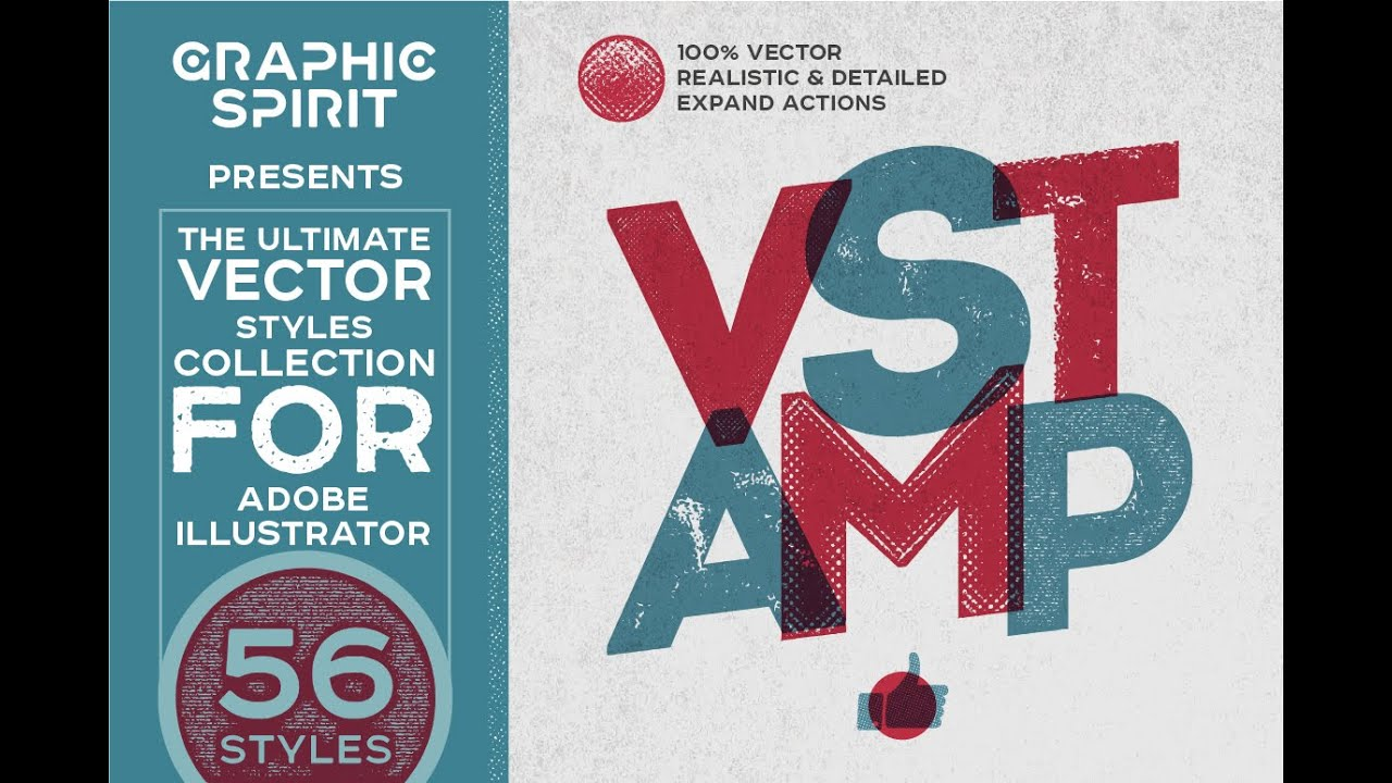image royalty free Vector stamp illustrator. Vstamp effects styles fo