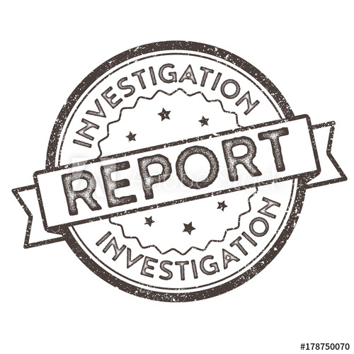 graphic freeuse library Vector stamp simple. Investigation report distressed seal
