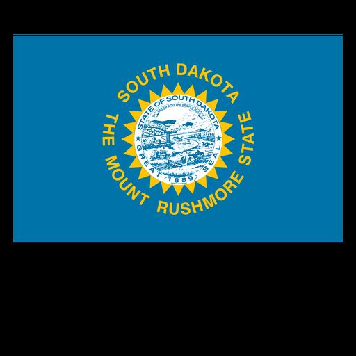 picture free stock South dakota state flag