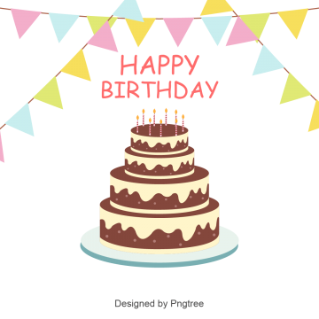 clip freeuse library Birthday vectors png psd. Vector sticker cake