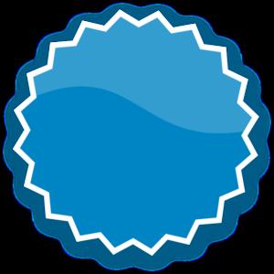 svg royalty free download Blue plain at clker. Vector sticker clip art