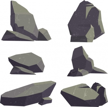 clipart freeuse library Vector stones. Stone free download for.
