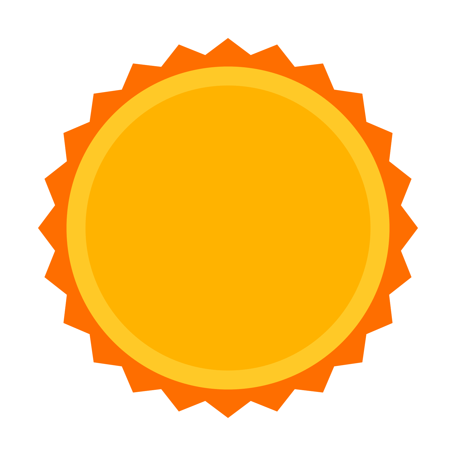 jpg transparent library Vector sunshine. Sun star icon free