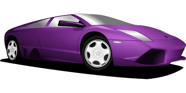 clipart transparent download Purple car my teckler. Vector supercars price