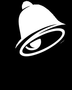 banner Bell logo eps free. Vector taco