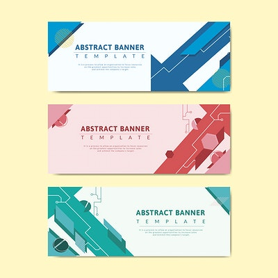 svg transparent Banner templates royalty free. Vector template.