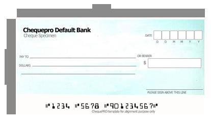 graphic free stock cheque copy template
