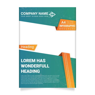 image download Vector business poster. Brochure template png vectors