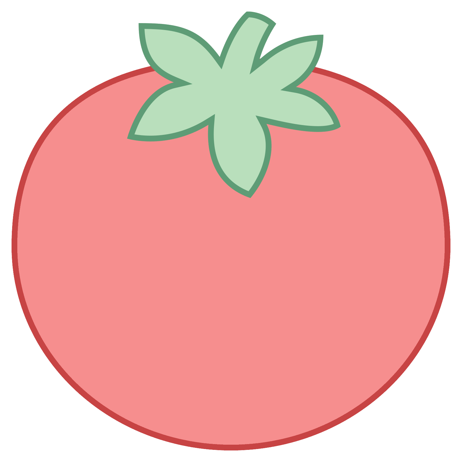 vector free stock Icon free download png. Vector tomato