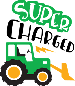 clip free download Super charged logo eps. Vector tractor