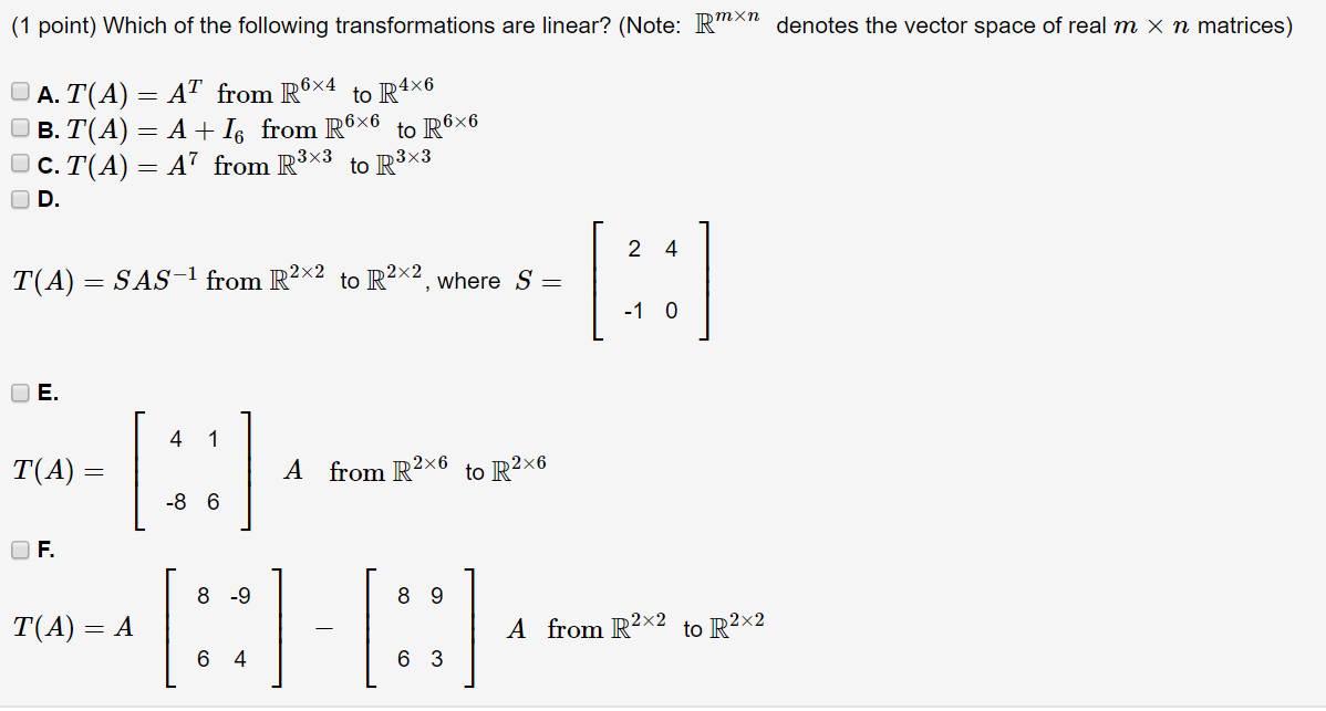picture free download Vector transformations. Which of the following