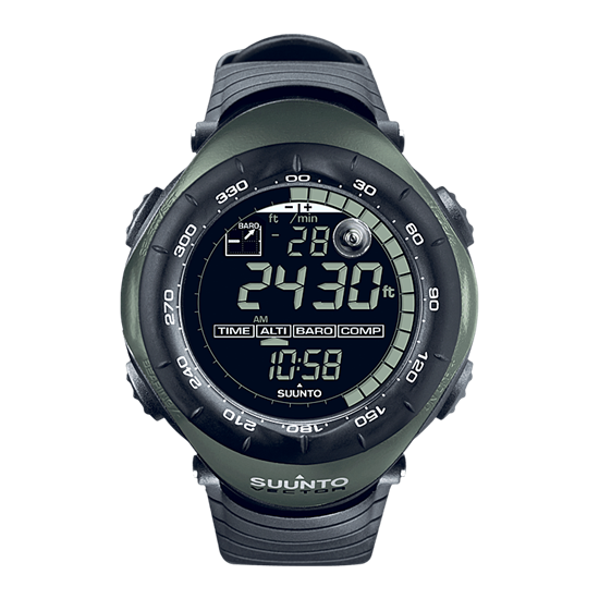 clip free download Vector watches. Suunto military foliage green