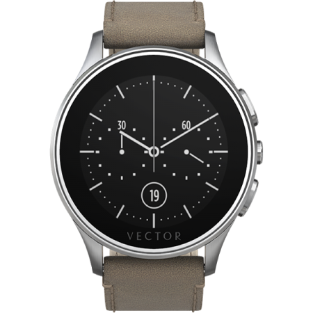 picture black and white download Vector watches. Ceas smartwatch luna argintiu