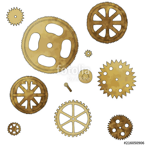 banner library download Vintage of machine various. Vector wheels mechanical
