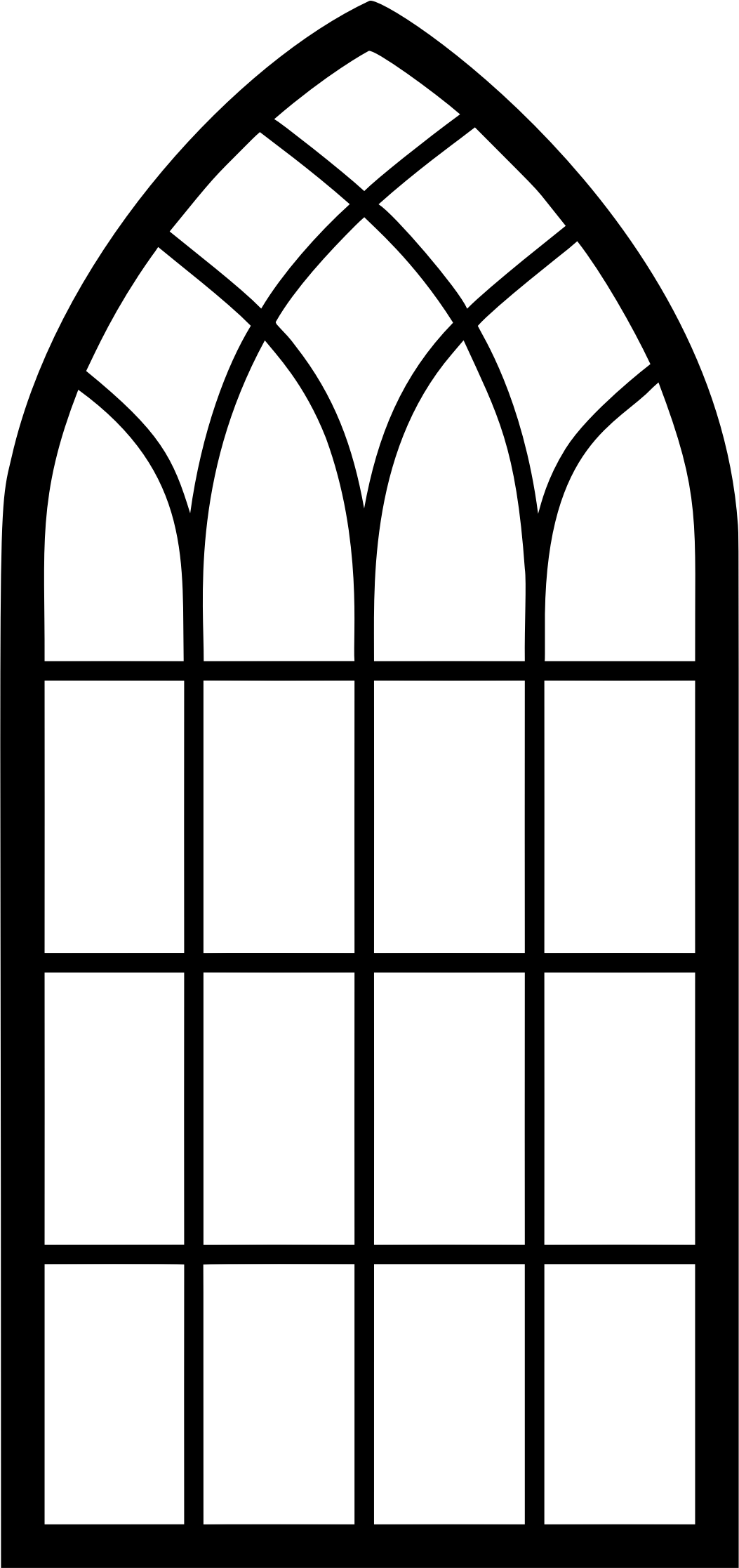 banner free windows vector church #109113198