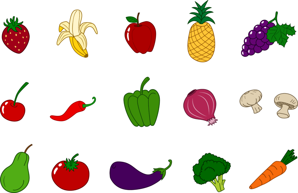 clip art library library Fruit Vegetable Clip Art