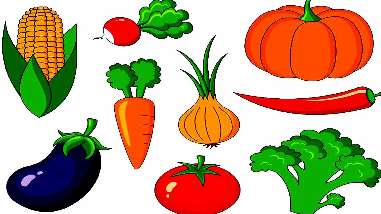 picture freeuse library Veggies clipart vegetable seed. With their names activities