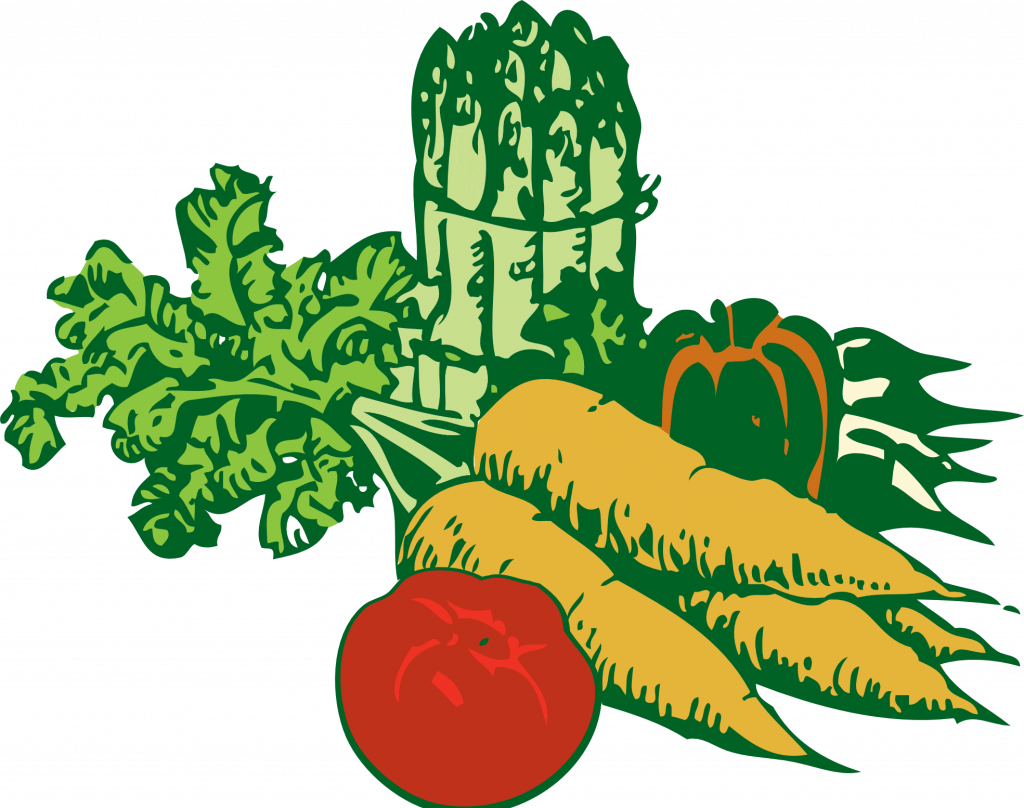 transparent library Vegetables clipart black and white. Vegetable pictures clip art