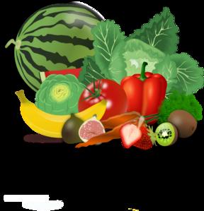 clip transparent library Veggies clipart. Fruits healthy clip art