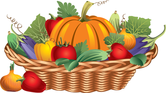 freeuse Basket png google search. Fall food clipart