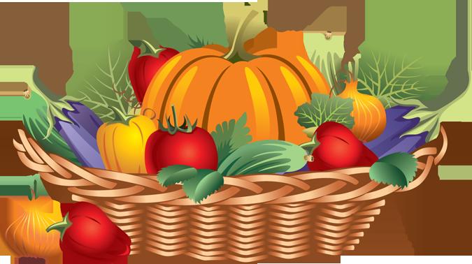 banner transparent Basket png google search. Veggies clipart
