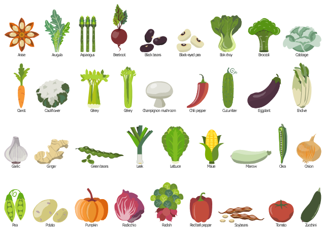 image black and white download Design elements vegetables food. Veggies clipart vegetable seed