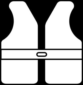 banner royalty free Vector color life. Vest outline clip art