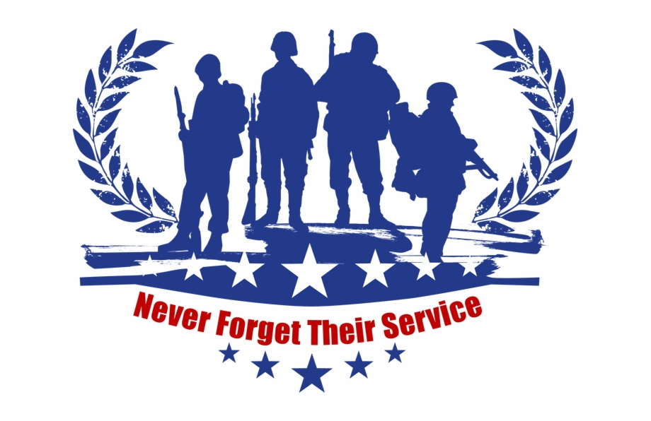 png black and white library Veterans clipart. Day free clip art.
