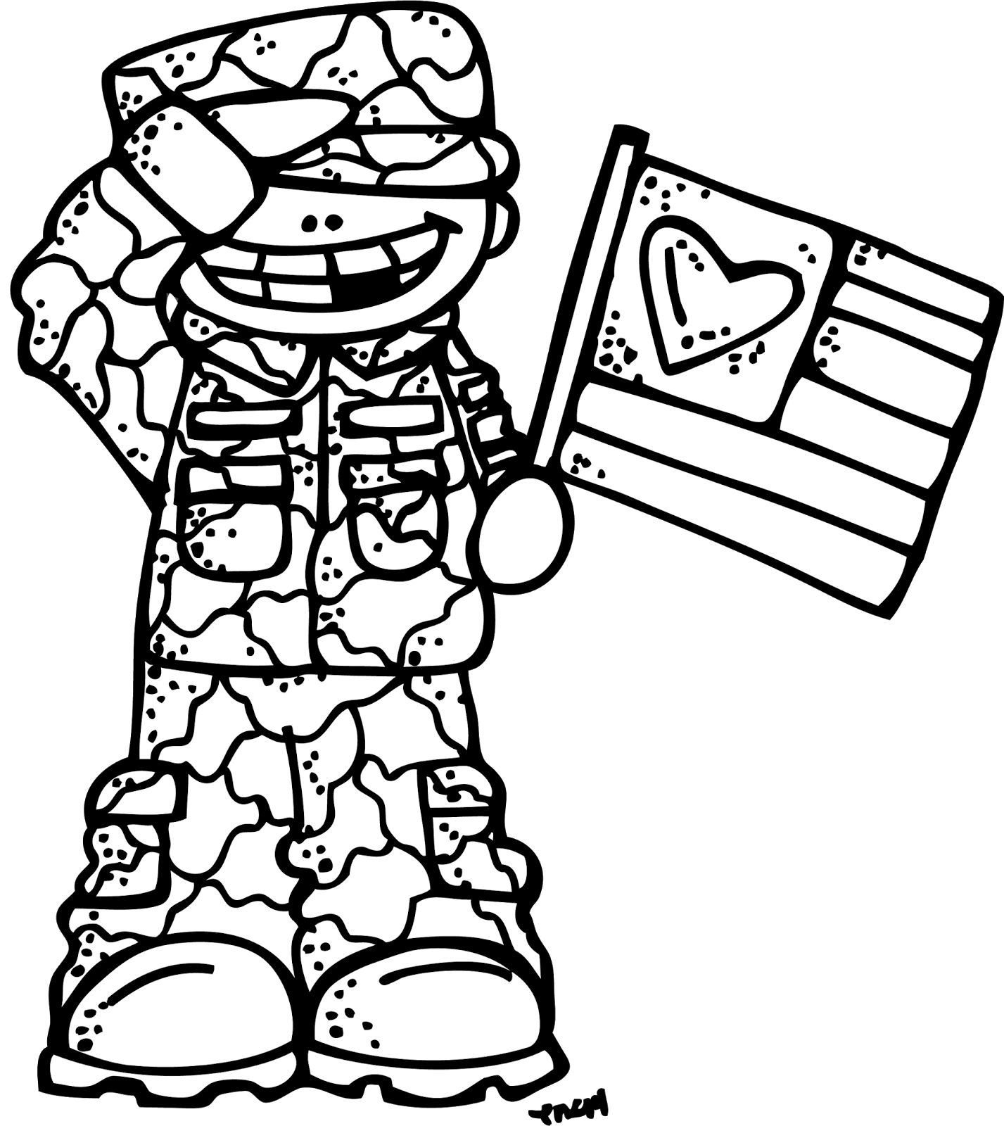 image transparent Army black and white clipart. Melonheadz illustrating always in