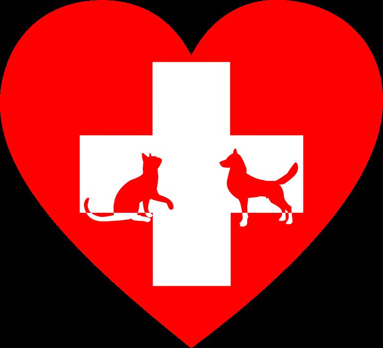 clip stock Veterinarian clipart. Veterinary first aid heart