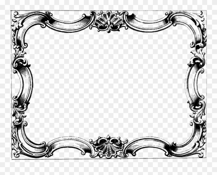 image royalty free Victorian borders clipart. Free clip art frame