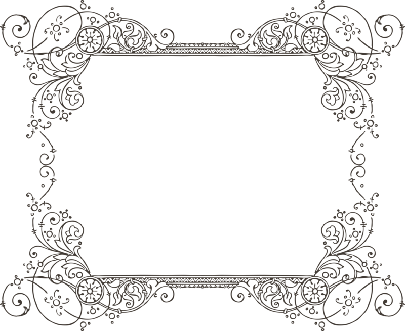 clipart freeuse library Victorian borders clipart. Cool page