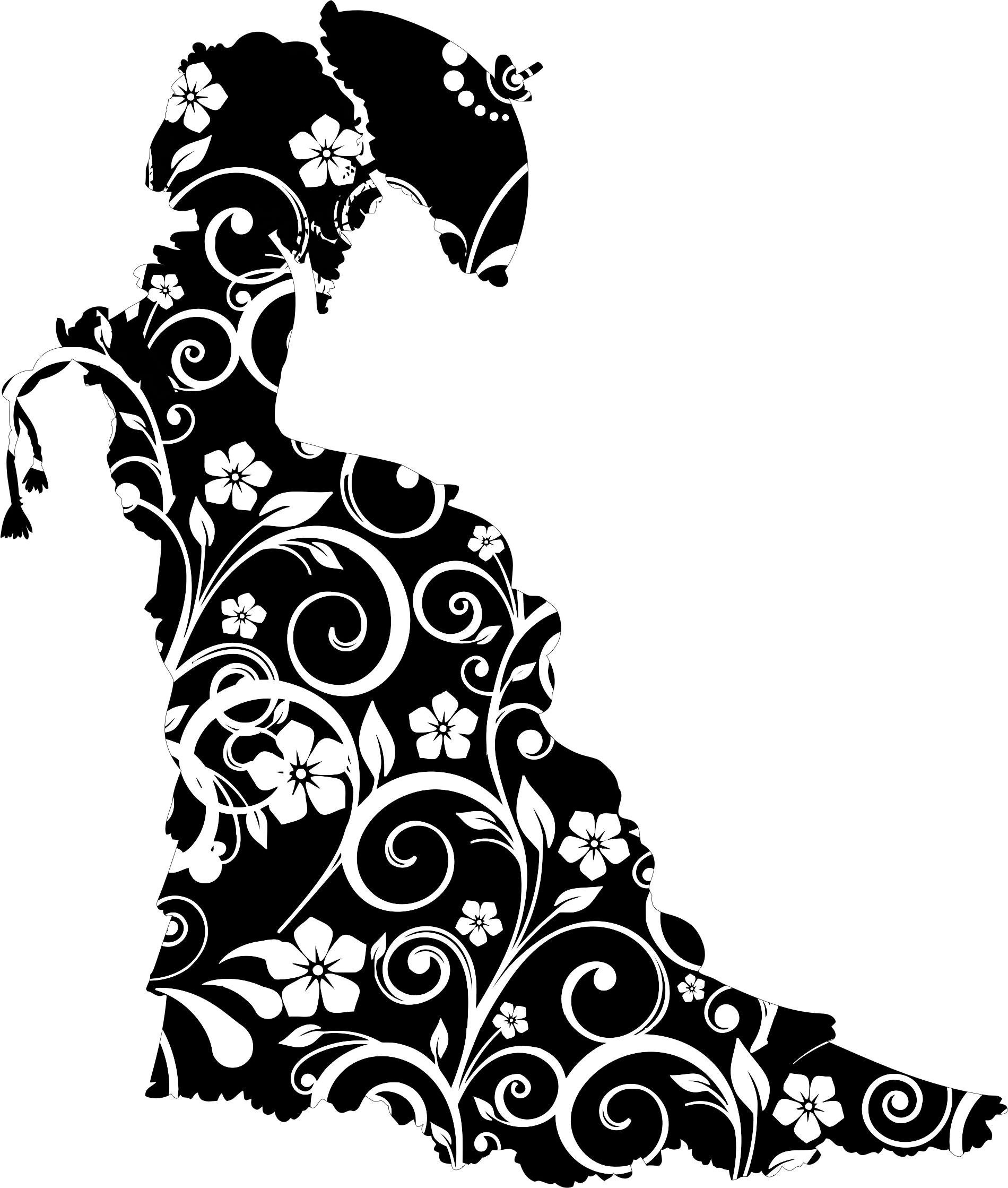 image download Silhouette free on dumielauxepices. Victorian clipart