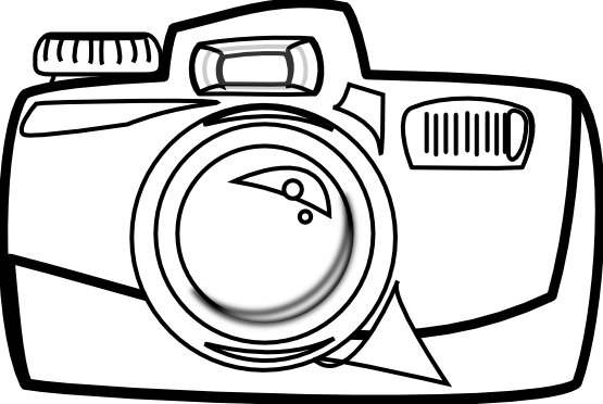 clip freeuse Line drawing clip art. Video camera clipart black and white