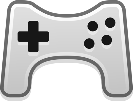png library stock Joystick playstation controllers xbox. Video game clipart black and white