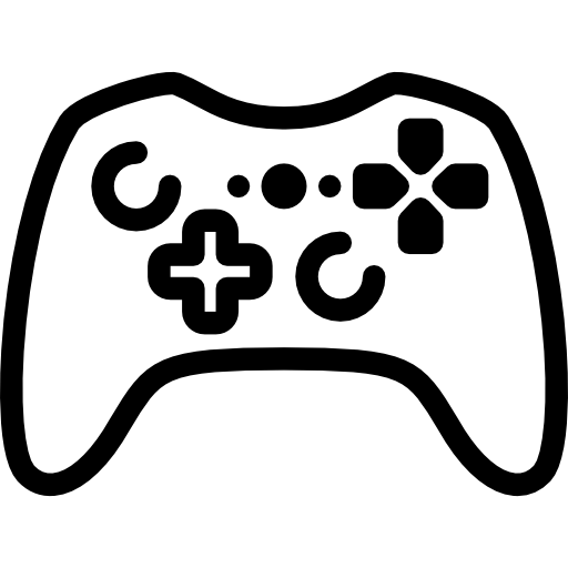 svg library library Video game clipart black and white. Controller silhouette at getdrawings