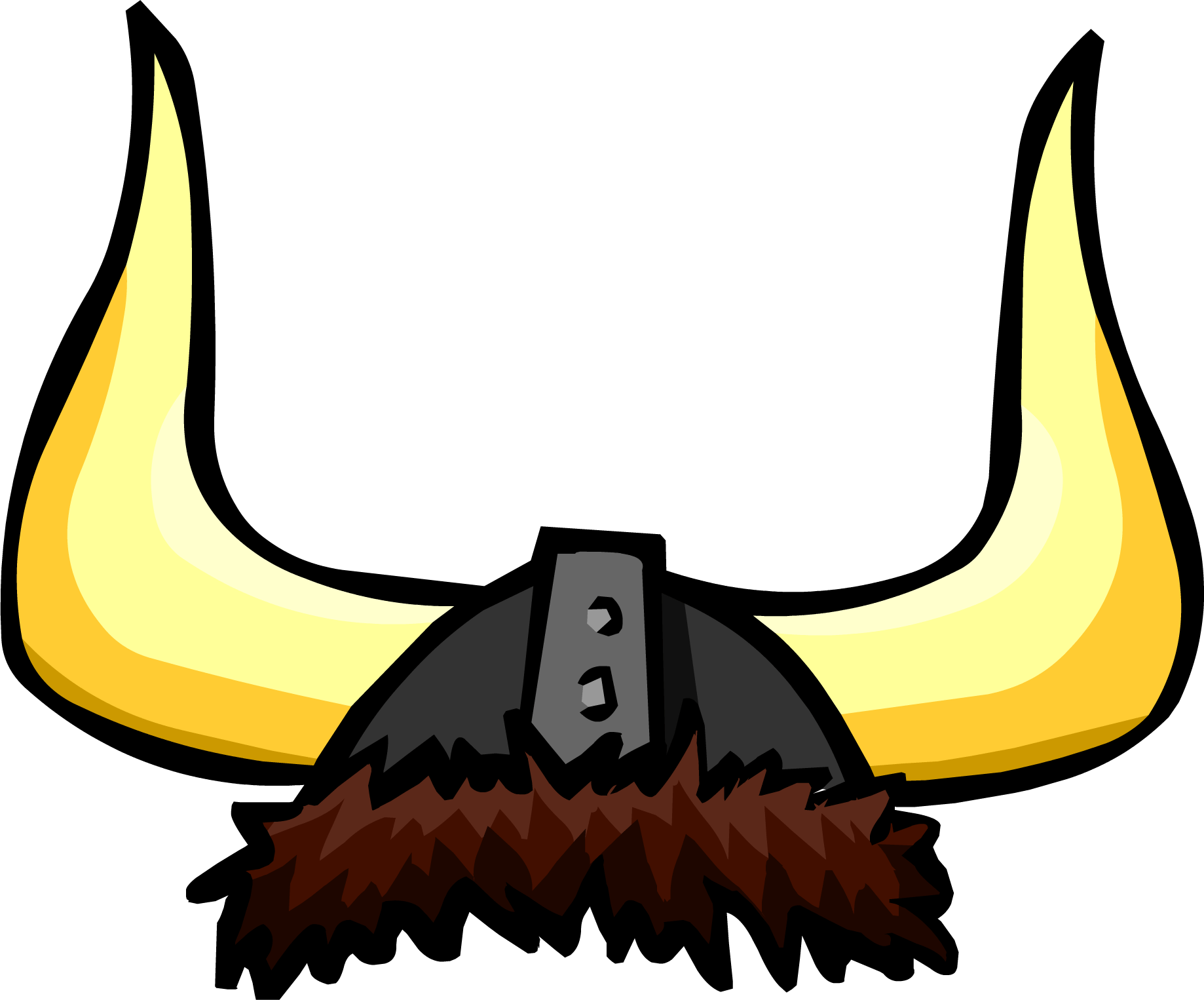 svg free stock Large Viking Helmet transparent PNG