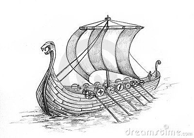 image library library Viking Stock Illustrations