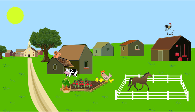 picture library stock Village clipart. Free cliparts download clip