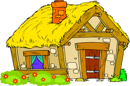 clip freeuse download  collection of village. Cottage clipart.