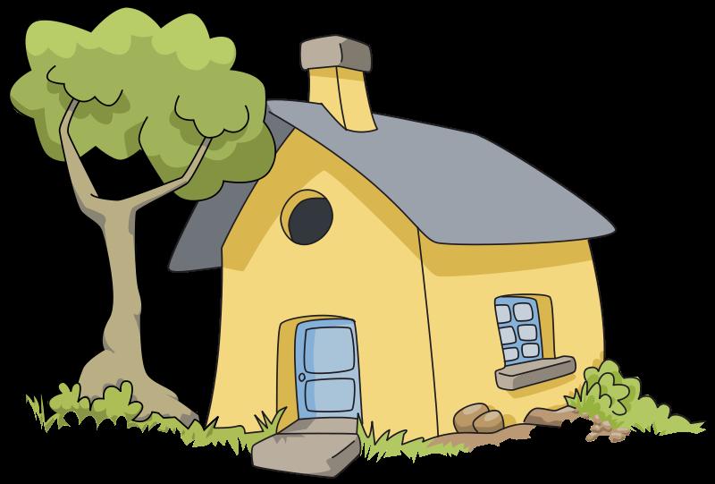 svg download House clip art net. Village clipart