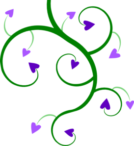 picture library library Heart clip art at. Vine clipart