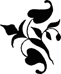 image royalty free stock Ornamental Vine Leaves Clip Art at Clker