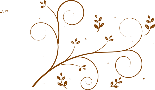 png freeuse stock Vine wreath clipart. Brown with leaves clip