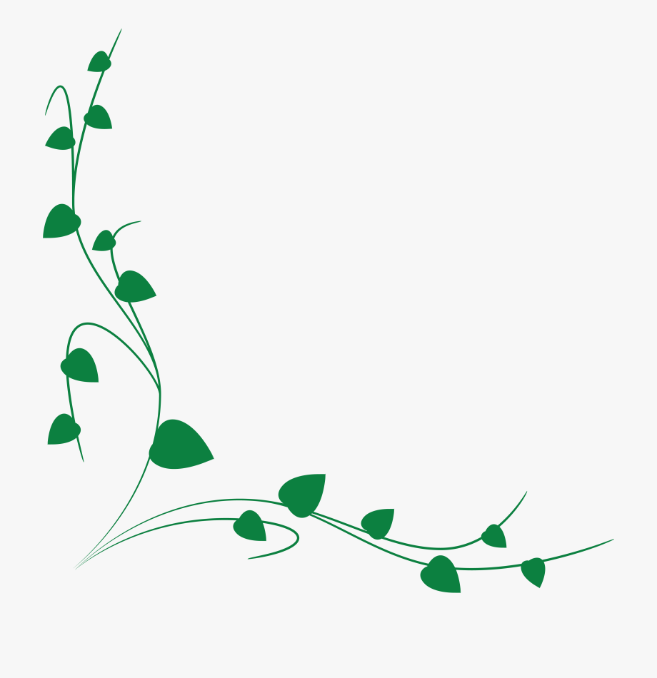 graphic freeuse library Free of a green. Vines clipart